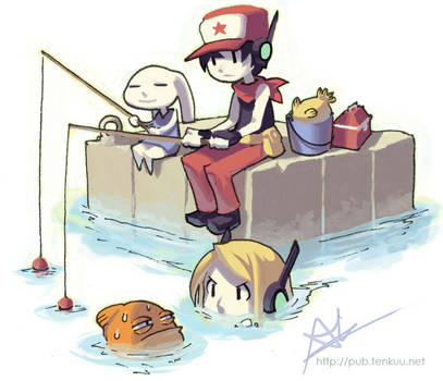 Chin Fishing