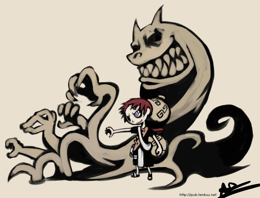 Gaara, Wind Waker style by oh8