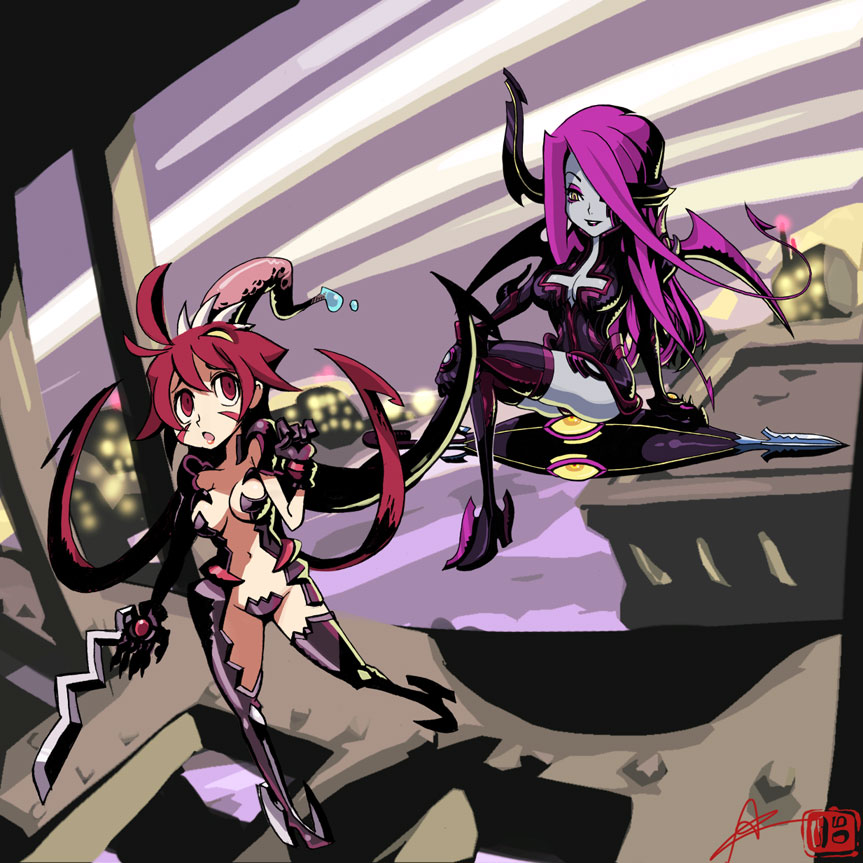 Skullgirls-Witchblade parody by oh8 on DeviantArt