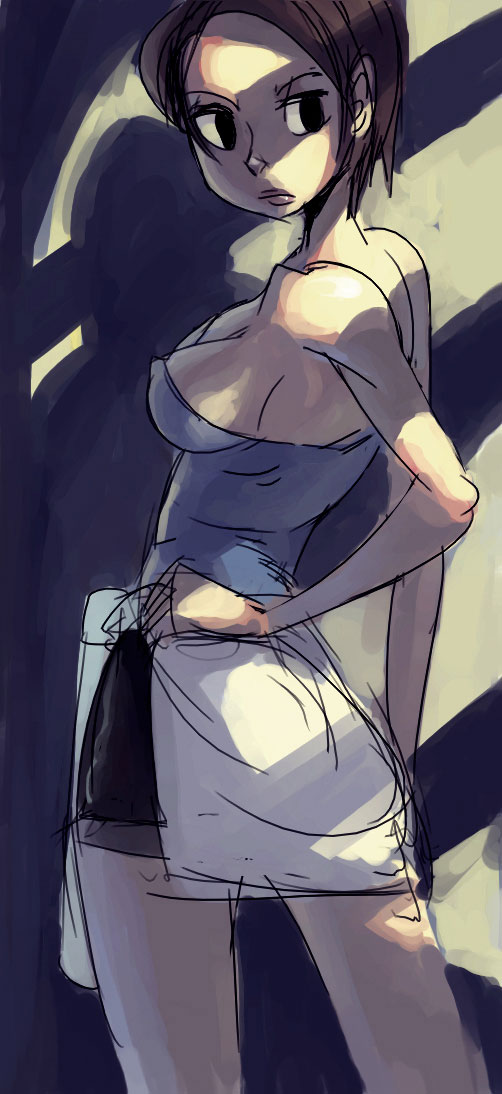 Jill Valentine by oh8