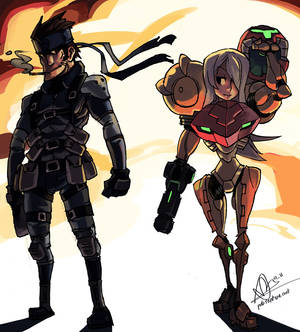 Samus and Snake