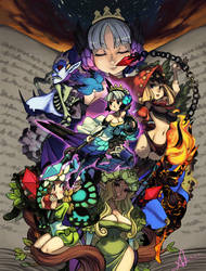 Girls of Odin Sphere by oh8