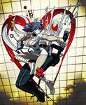 Valentine Action Portrait