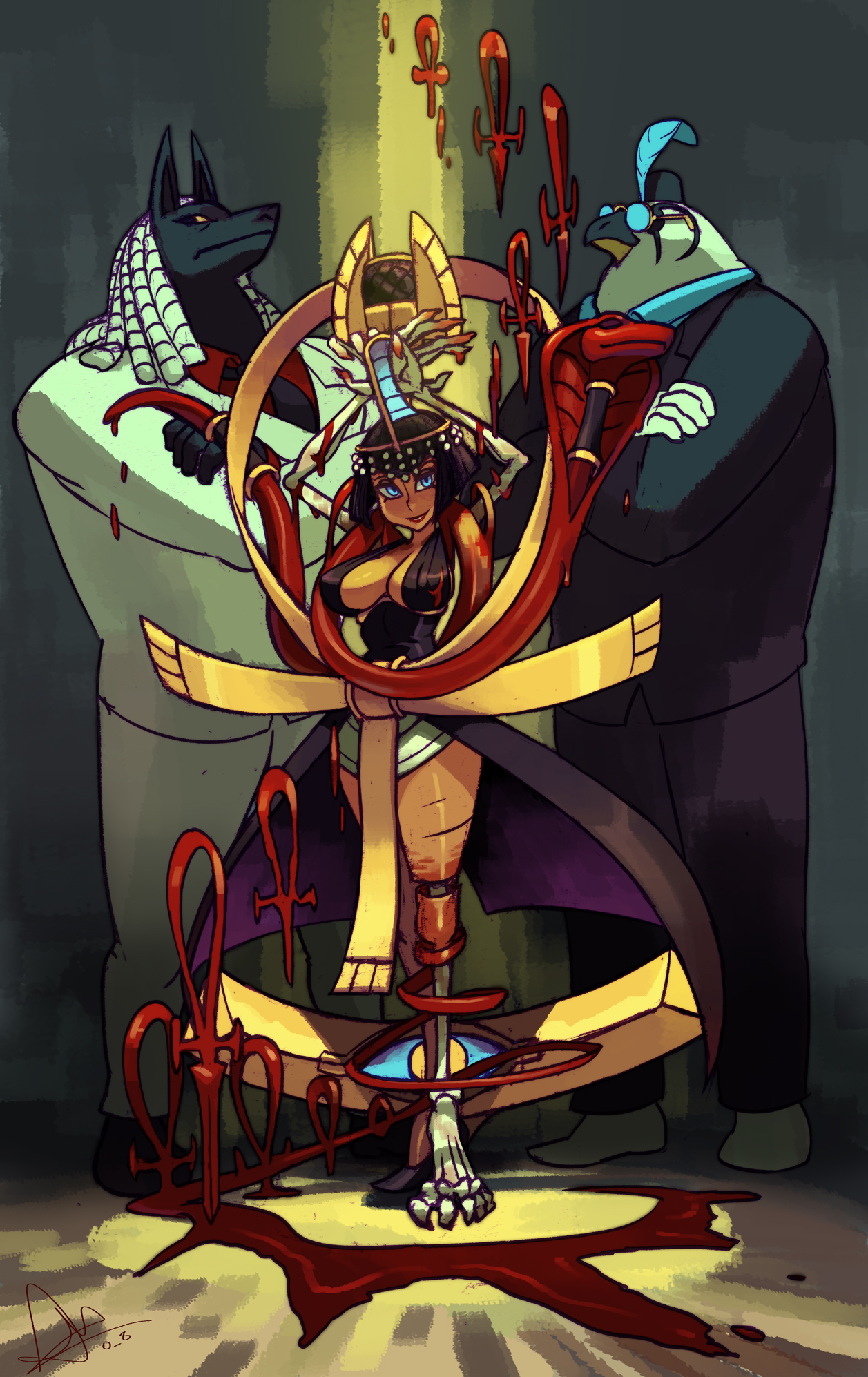 Eliza, the crimson diva by oh8