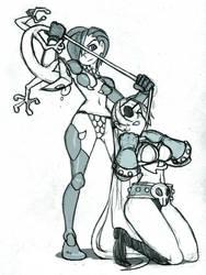 Freya captured by Devana