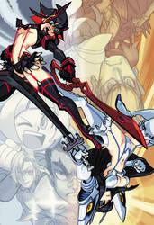 Kill la Kill: Ryuko and Satsuki