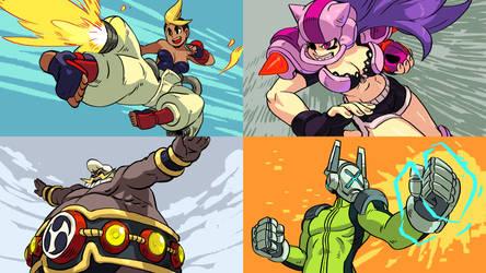 Combat Core guest design bonus characters