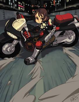 Neo Aoharu is about to E.X.P.L.O.D.E.
