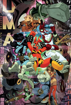 (UMA) - Chaos Fable, Monstergirl Wrestling!