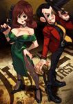 Fujiko and Lupin