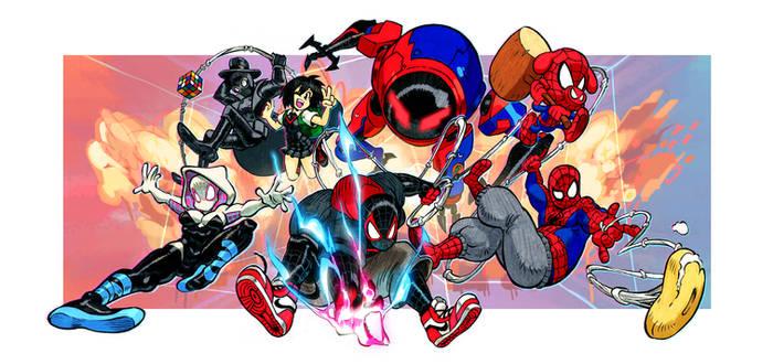 Spiderverse Nucleus Digital Print
