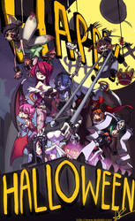 Happy Skullgirls Halloween by oh8