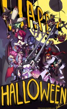 Happy Skullgirls Halloween