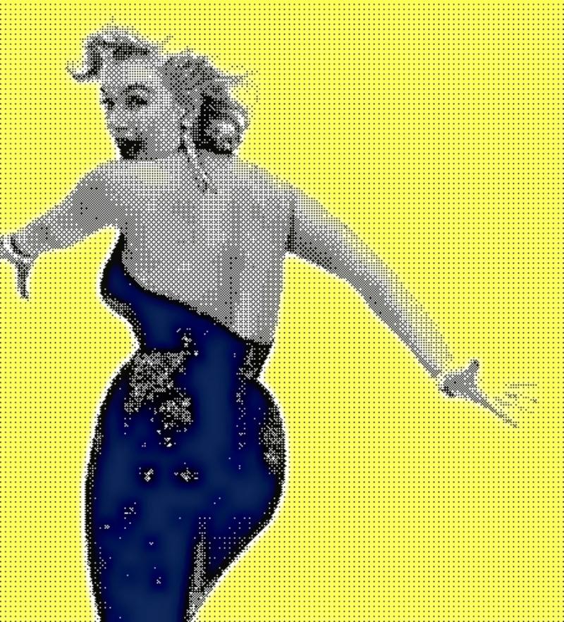 Marilyn-Bare Back by DiosaLuminosa