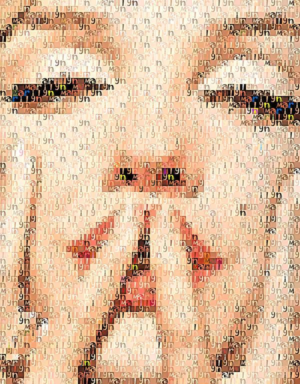 Marilyn-Textual by DiosaLuminosa