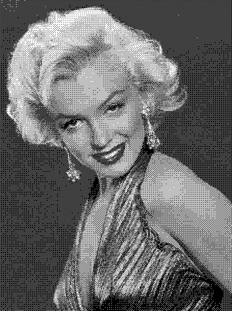 Marilyn Style and Glamour by DiosaLuminosa