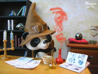 Hayao is a wizard by Estellanara