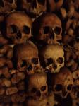 Paris : les Catacombes.