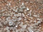 Crystals of salt