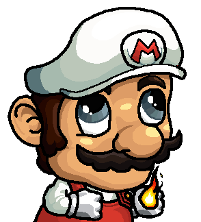 Mario Fire Fsjal by Gladssinay123