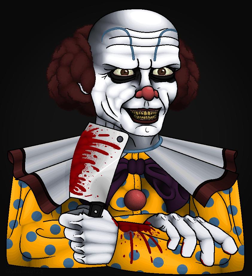 Killer Clown by Gladssinay123