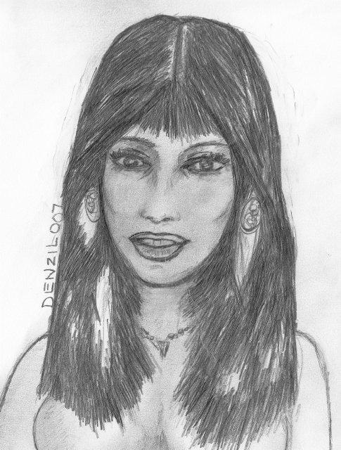 Pencil Drawing by Denzil007