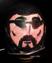 Easter Egg Face