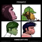 Primates and Gorillaz