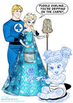 Elsa, Torch and baby makes 3