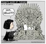 Jon Snow and Snoopy