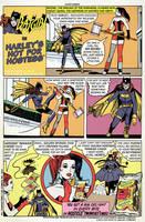 Batgirl, Harley and Hostess by PhilipH100