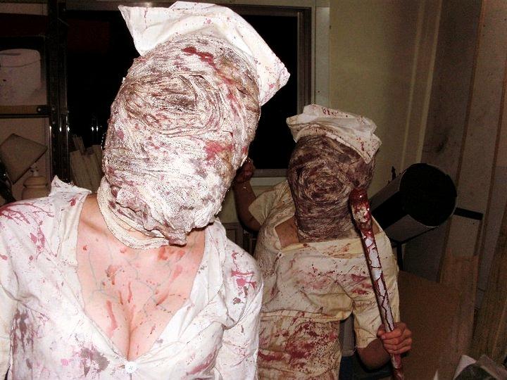 Nurses' lovely face by Tinker-Bells