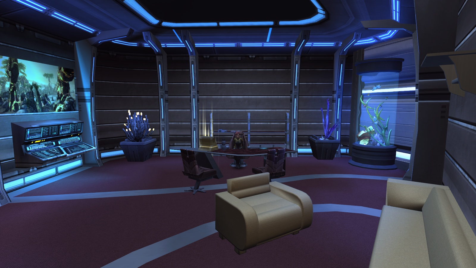 Living Room Color Palette The Captain S Ready Room By Xenlanayar On Deviantart