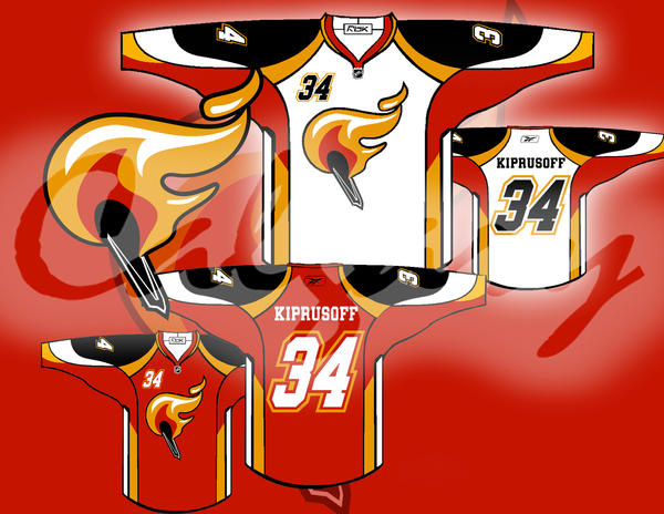 Flames Concept Alternate Logo - Page 6 - Calgarypuck Forums - The ...
