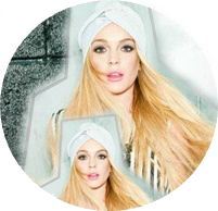 circulo png da Lindsay Lohan by AnnaBieber