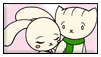 Doki And Nabi Stamp by Eiko-Comissions