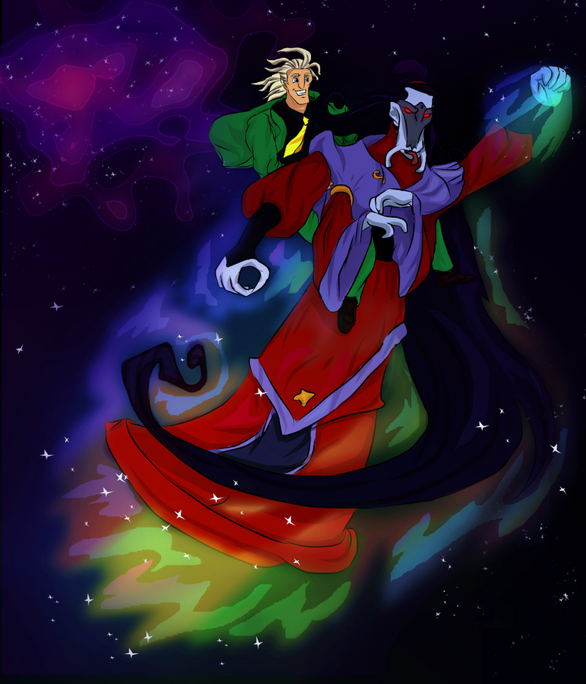 Space trip by OlgaH-SteelClaw1