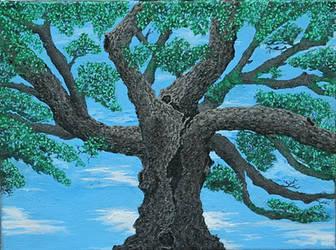 Live oak tree by mitchnola