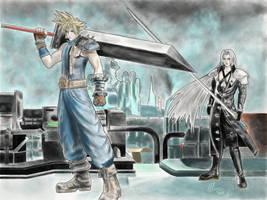 Final Fantasy VII by MeganzMonkeyBusiness