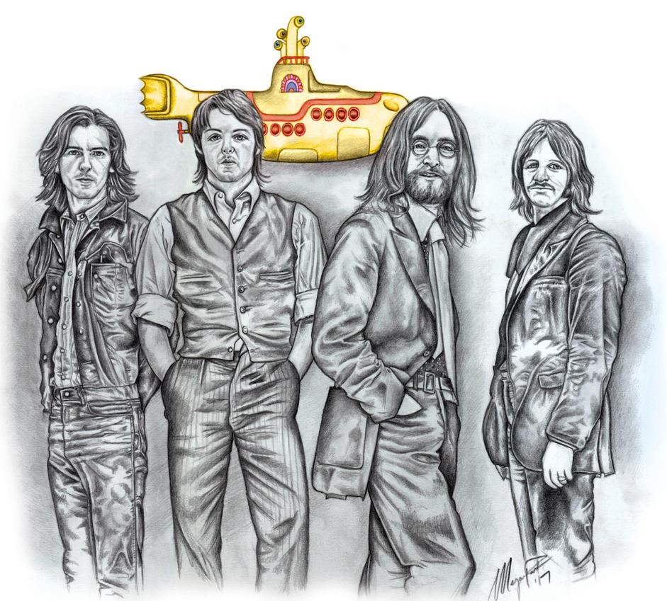 The Beatles by MeganzMonkeyBusiness