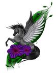Pegasus Tattoo Design