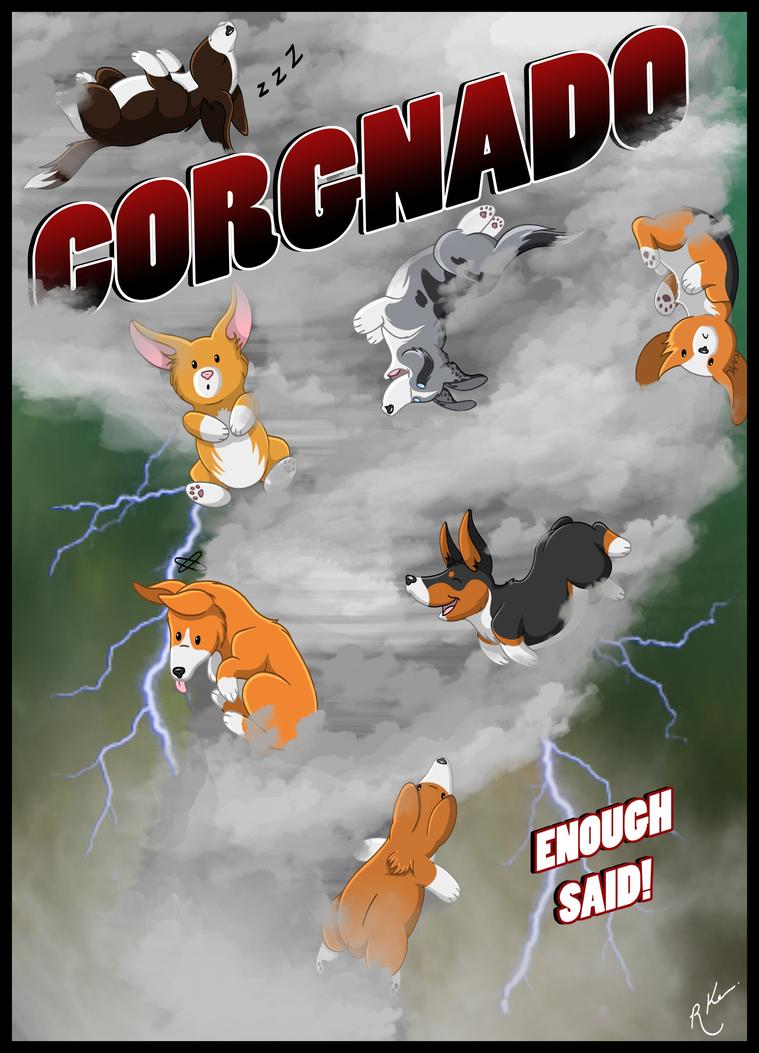 CORGNADO by Crimson-Mane