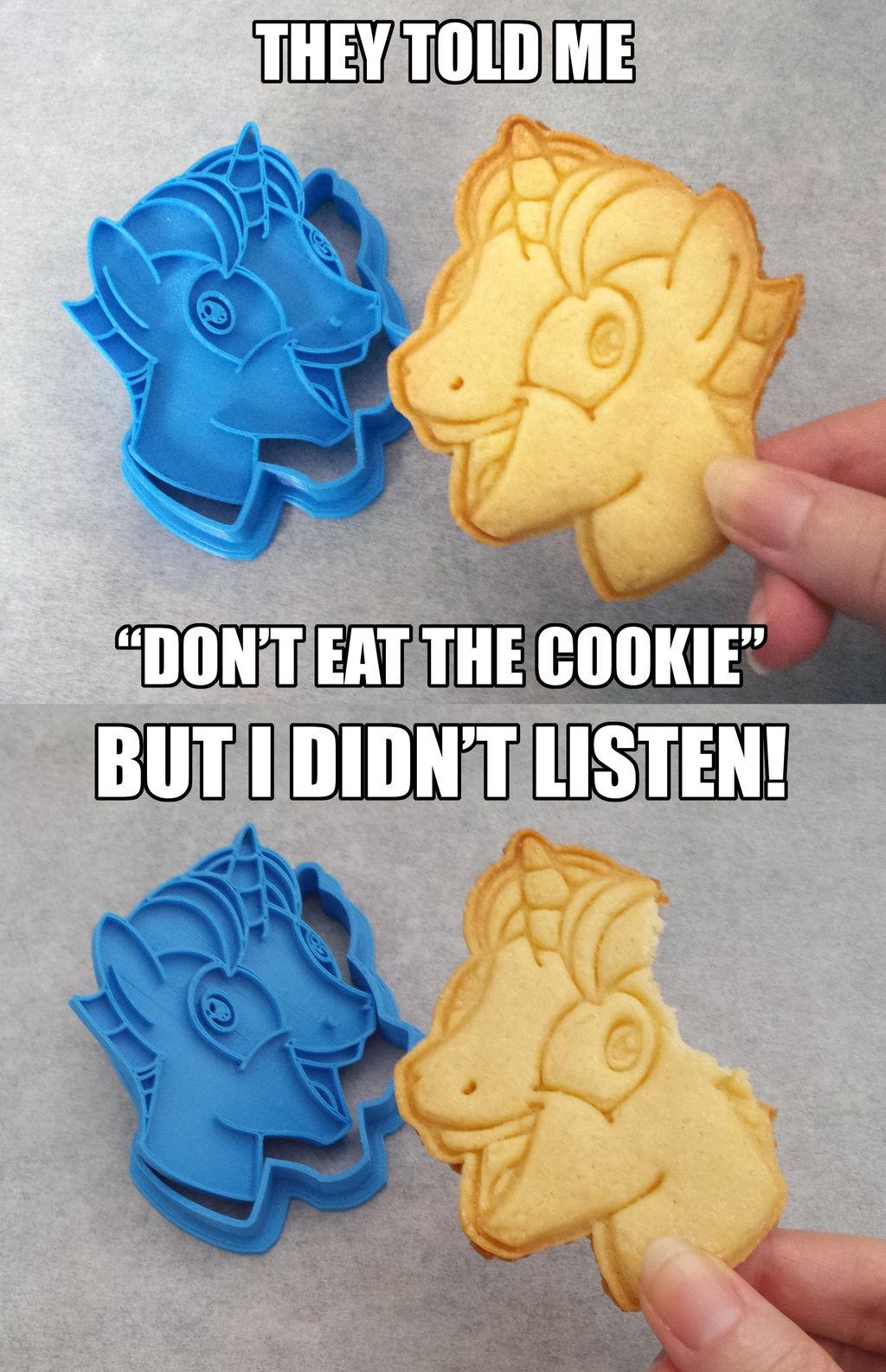 MLP:FiM ~ I Didn't Listen ~ Cookie Cutter