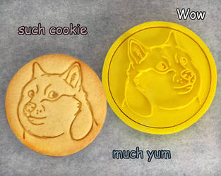 Doge Cookie Cutter by Crimson-Mane