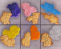 MLP:FiM Cookie Cutter Set by Crimson-Mane