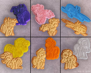 MLP:FiM Cookie Cutter Set by Crimson-Mane