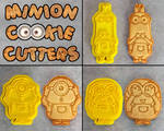 Minion Cookie Cutters