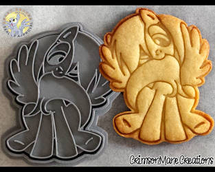 Derpy Cookie Cutter by Crimson-Mane