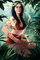 Jungle princess by mannequin-atelier