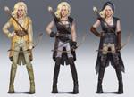 Elf archer concept designs
